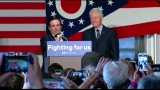 Former President Clinton hosts rally in Clifton