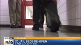 Lane County Jail can now house 317 inmates after adding another 20 beds